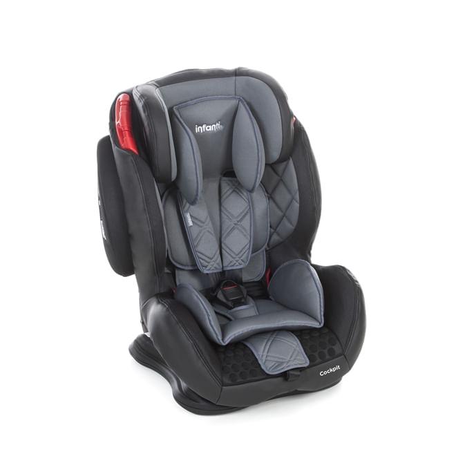 893ab96ea Cadeira Para Automóvel Cockpit Grafito - Infanti - JC Brinquedos ...