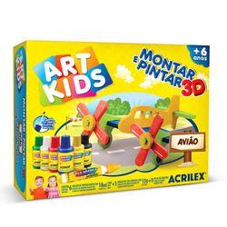 montar-e-pintar-3d-aviao-art-kids-acrilex