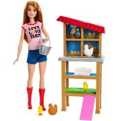 Boneca-Barbie-Conjunto-Profissoes-FXP15-Granjeira-Mattel-1