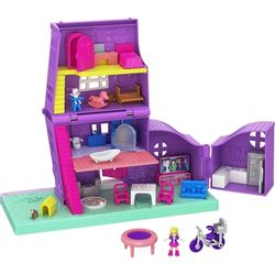 boneca-polly-pocket-casa-da-polly-pollyville-gfp42-mattel