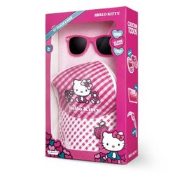 Kit-Oculos-de-Sol-e-Bone-Hello-Kitty---Multikids