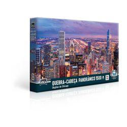Quebra-Cabeca-1500-pecas-Panoramico-Skyline-de-Chicago---Toyster