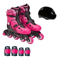 Patins-da-Barbie-Ajustavel-M2-33-ao-36---Fun-Toys