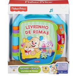 Fisher-Price-Livro-de-Rimas-Aprender-e-Brincar---CDH62---Mattel