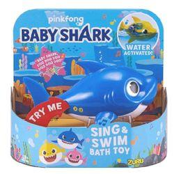 Robo-Alive-Junior-Brinquedo-para-Banho-Baby-Shark-Azul---Candide