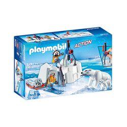 Playmobil-Exploradores-Artico-com-Urso-Polar---Sunny