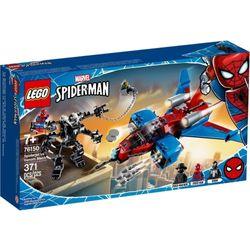 Lego-Super-Herois---Homem-Aranha-Spiderjet-vs.-Robo-Venom--LEGO
