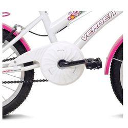 Bicicleta-Infantil-Breeze-Branco-e-Rosa-Aro-16---Verden-Bikes