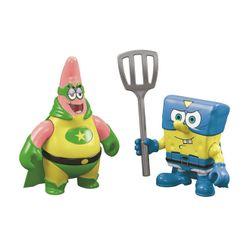 Fisher-Price-Imaginext-Bob-Esponja-e-Patrick-Super-Herois---DFX86---Mattel