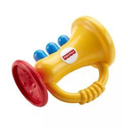 Fisher-Price-Chocalhos-Divertidos-Mordedor-Trompete---FFB68---Mattel