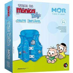 Colete-Inflavel-Turma-da-Monica-Baby-Azul---Mor