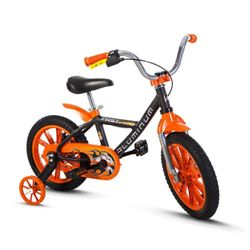 Bicicleta-Aro-14-First-Pro-Laranja---Nathor