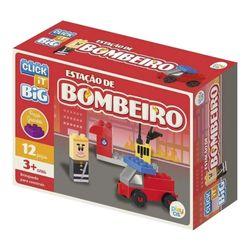 Blocos-De-Montar-Big-Bombeiro-12-Pecas---Click-IT