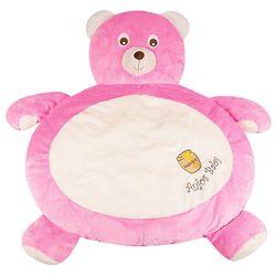 Tapete-Fluffy-Urso-Rosa-Forte---Anjos-Baby