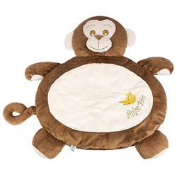 Tapete-Fluffy-Macaco-Marrom---Anjos-Baby
