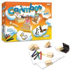 Carimbos-Educativos-Aves---Xalingo