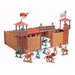 Acampamento-Forte-Apache-Fort-The-West-c--20-Figuras---Gulliver