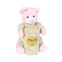 Pelucia-Com-Manta-Urso-Pimpao-Rosa---Anjos-Baby