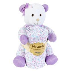 Pelucia-Com-Manta-Urso-Pimpao-Lilas---Anjos-Baby