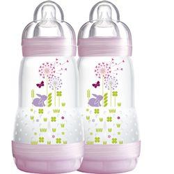 Mamadeira-Easy-Start---Firt-Bottle-260ml-Girl---Pack-Com-2---MAM