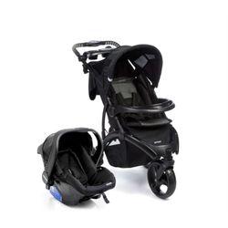 Travel-System-Off-Road-Duo-Onyx-Com-Carrinho-de-Bebe---Bebe-Conforto---Infanti
