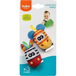 Pulseirinha-Chocalho-Baby-Zebrinha-e-Girafa---Buba