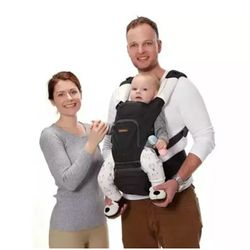 Canguru-Para-Bebe-Fisher-Price-Preto---Multikids-Baby