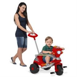 Triciclo-De-Passeio---Disney-Carros-3---Relampago-McQueen---Bandeirante