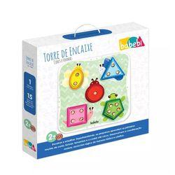 brinquedo-criativo-torre-de-encaixe-cores-e-formas-babebi