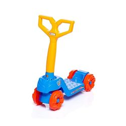 patinete-infantil-mini-scooty-azul-com-rodas-vermelha-calesita
