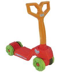 Patinete-Infantil-Mini-Scooty-Vermelho-Com-Rodas-Verde---Calesita