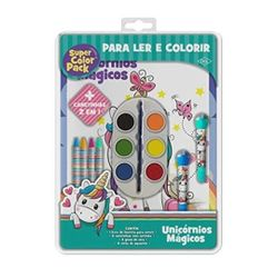 Livro-de-Colorir---Super-Color-Pack---Unicornios-Magicos---DCL