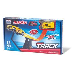 power-track-racing-race-looping-pista-com-carro-13-pecas-samba-toys