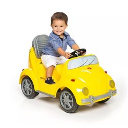 Carrinho-de-Passeio-com-Pedal-1300-Fouks-Amarelo---Calesita
