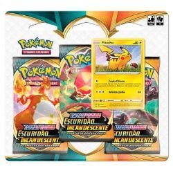 Pokemon-Blister-Triplo-Escuridao-Incandescente---Pikachu---Copag