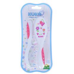 Conjunto-Pra-Cabelo-Soft-Escova-e-Pente-Branco-e-Rosa---Kuka