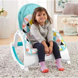 Fisher-Price-Cadeira-Portatil-Crescendo-Comigo-Amigos-da-Floresta---FNB42---Mattel