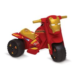 Mini-Moto-Homem-de-Ferro-Eletrica---6V---Bandeirante