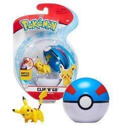 Pokemon-e-Pokebola-Clip--N--Go-Pikachu---Sunny