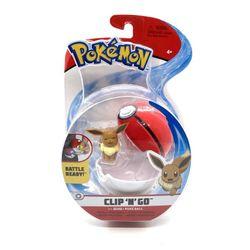 Pokemon-e-Pokebola-Clip--N--Go-Eevee---Sunny