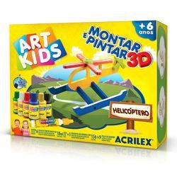 Montar-e-Pintar-3D-Helicoptero-Art-Kids---Acrilex