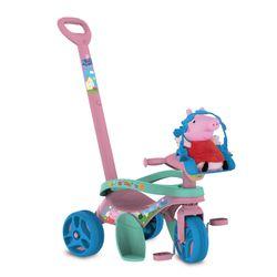 Triciclo-Mototico-Peppa-Pig-Passeio---Pedal---Bandeirante