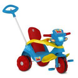 Triciclo-Velocipede-Reclinavel-Passeio---Pedal-Azul---Bandeirante