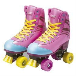 patins-roller-infantil-4-rodas-colorido-rosa-31-34-fenix