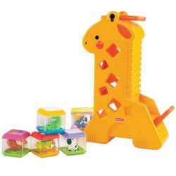 Fisher-Price-Girafa-Com-Blocos---B4253---Mattel