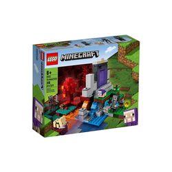 lego-minecraft-o-portal-em-ruinas-lego