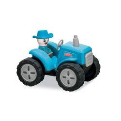 Trator-Billie-Fazendeiro---Azul---Usual-Brinquedo