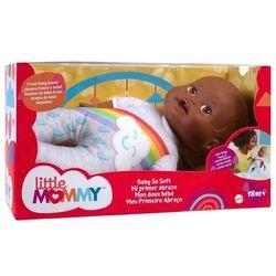 Little-Mommy---Boneca-Bebe-Meu-Primeiro-Abraco-Negra-Hbp91---Mattel