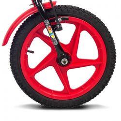 Bicicleta-Infantil-Aro-16-Rock-Preto-e-Vermelha---Verden-Bikes
