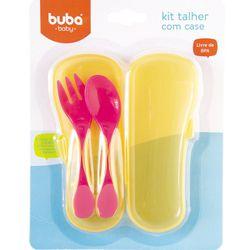 Kit-Talher-Baby-com-Case-Rosa---Buba